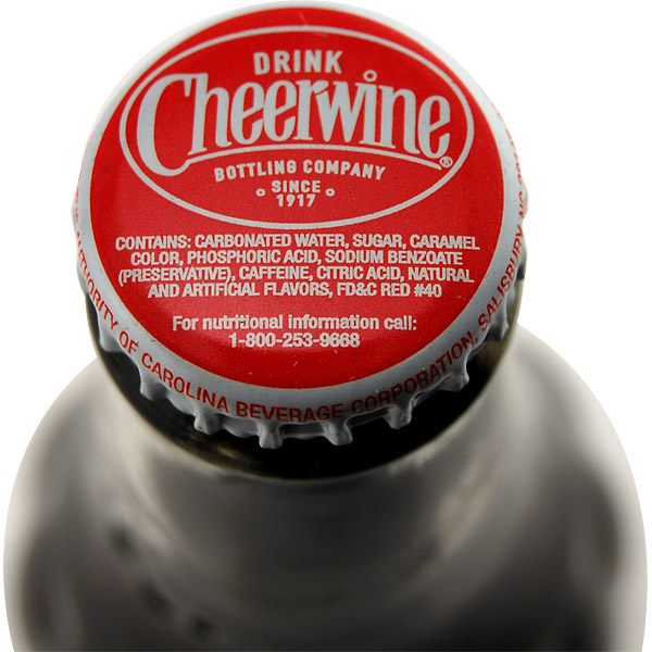 Cheerwine from North Carolina